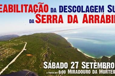 Reabilitação da descolagem Sul da Serra da Arrábida