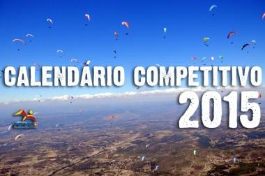 Calendário Competitivo FPVL 2015